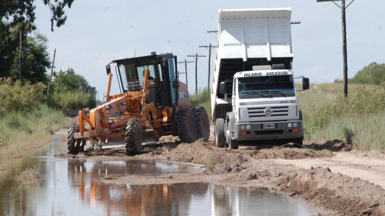 En marzo comienzan las obras para reparar 4.000 kilómetros caminos rurales en la provincia